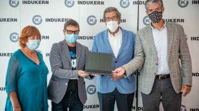 Donació d'ordinadors Indurken