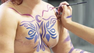 Pintura corporal i salut mamària