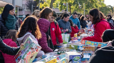 Mercat d'intercanvi de joguines (desembre de 2018)