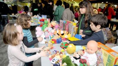 Mercat d'intercanvi de joguines
