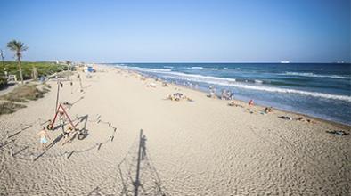La platja del Prat