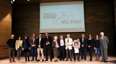 Premis Ciutat del Prat 2019 (foto de grup)