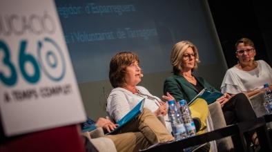 Pilar Eslava a la jornada sobre el paper dels ajuntaments en l'Educació 360