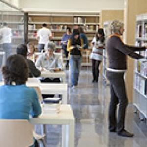 Biblioteca Antonio Martín - Primera planta