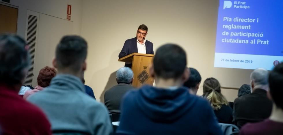 Presentació del Reglament i del Pla Director de Participació Ciutadana