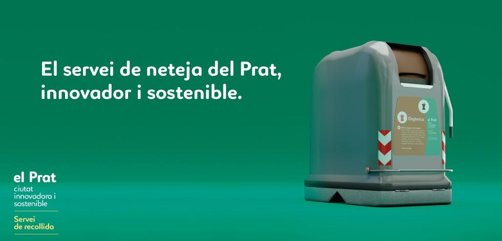 El servei de neteja de Prat innovador i sostenible