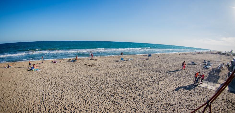 Ambient platja del Prat (estiu de 2017)