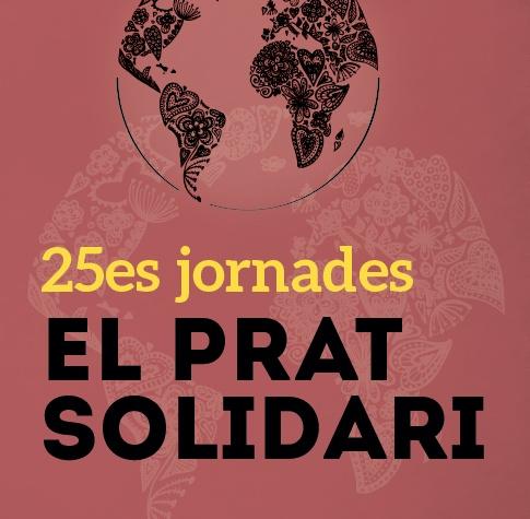 """Imatge gràfica de la campanya """"Jornades El Prat Solidari, 2018"""""""