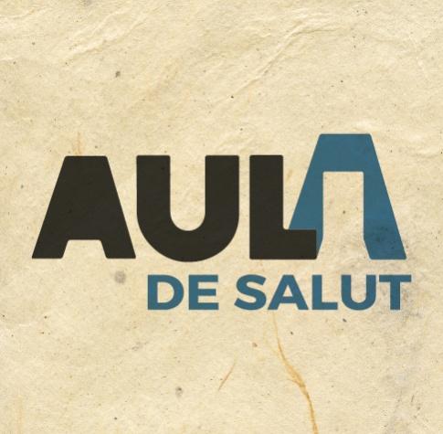 """Imatge gràfica de la campanya """"Aula Salut"""" 2017"""