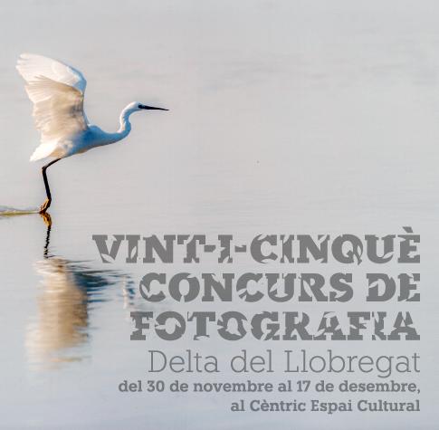 Exposició del 25è Concurs de fotografia Delta del Llobregat