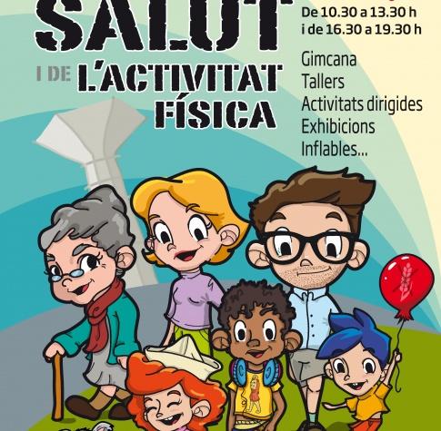 Imatge gràfica campanya Festa de la Salut i l'activitat física, 2018