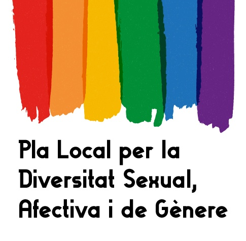 Imatge gràfica del Pla Local per la Diverstitat Sexual, Afectiva i de Gènere, 2019