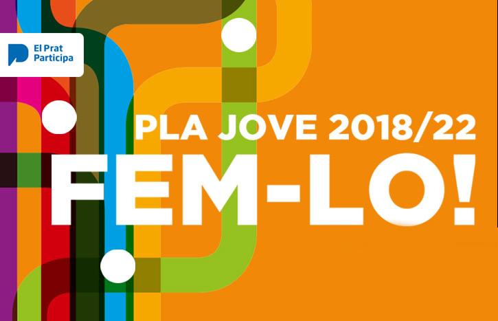 Imatge gràfica Pla Jove 2018-2022