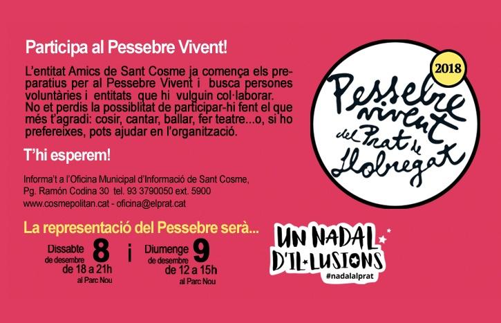Voluntariat Pessebre Vivent