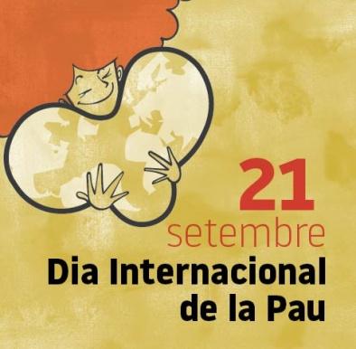Imatge gràfica del Dia Internacional per la Pau, 2018