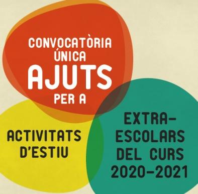 Ajuts per activitats extraescolars i d'estiu 2020