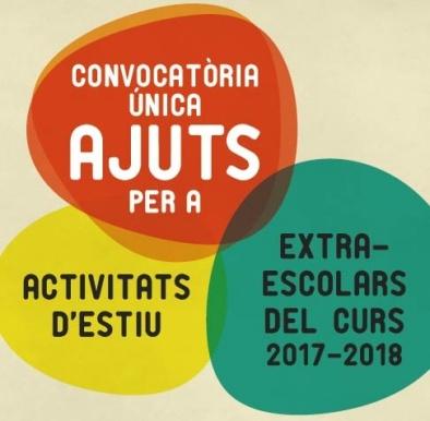 Ajuts activitats extraescolars i esportives