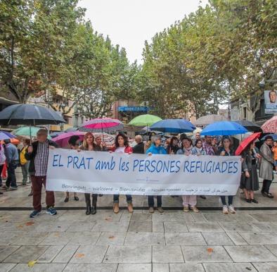 El Prat amb les persones refugiades