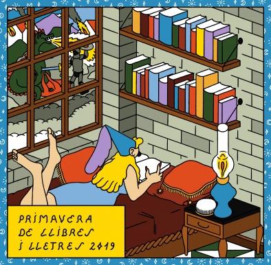Primavera de llibres i lletres